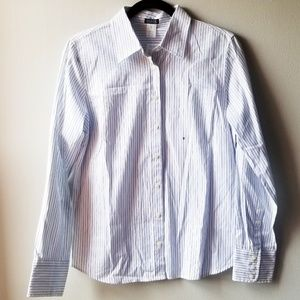 NWT J. Crew Factory Pinstripe Buttondown Shirt